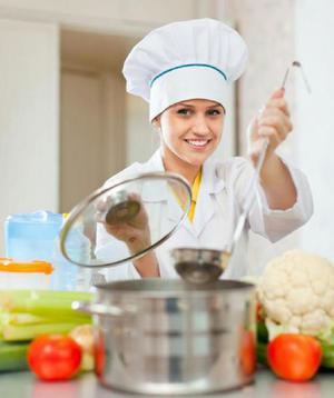 Auxiliar de Cocina con Buena Sazón - Cali