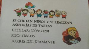 Cuidado de Niños Y Asesorias en Tareas - Bogotá