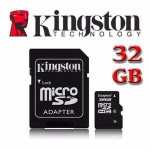 Memoria Micro Sd 32gb Kingston Clase 4 Blister Calidad Aaa