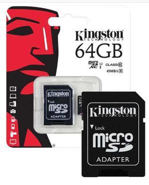 Memoria Micro Sd 64gb Entrega Inmediata