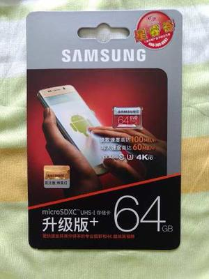 Memoria Micro Sd Samsung Clase 10 Ubs/s