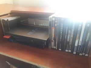 Play Station 2 + 2 Controles+32 Juegos(2 Originales)+memoria