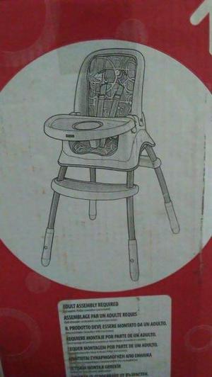 silla comedor fisher Price nueva
