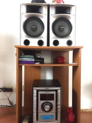 Equipo de Sonido Sony Genezi Karaoke Modelo MHC GNX60