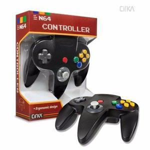 Control Consola N64 Nintendo 64 Marca Cirka Negro -