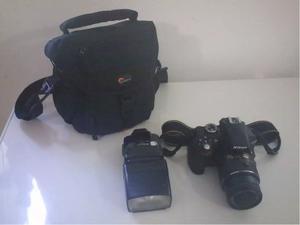 Nikon D Lente  Vr Como Nueva Impecable