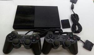 Play Station 2 + 2 Controles + Memorycard **gamepolis