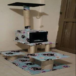 gimnasio rascador y casa para gato de 1.30 $ 100.000 -