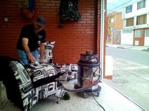 Lavado Profesional de Muebles Alfombras - Bogotá