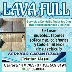 Lavafull Lavado Industrial de Muebles - Medellín