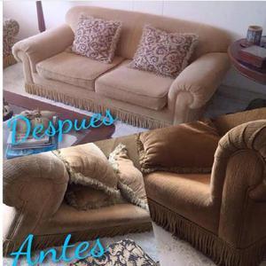 Limpieza y desinfeccion de muebles de hogar y oficina