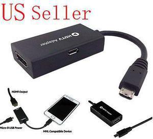 Micro Usb 1080p A Hdmi Cable Adaptador Para Samsung Galaxy