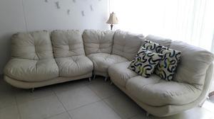 Muebles en L, Sala con Mesa de Centro