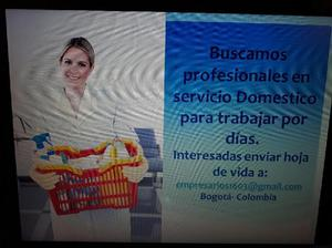 Servicio Domestico por Dias - Bogotá