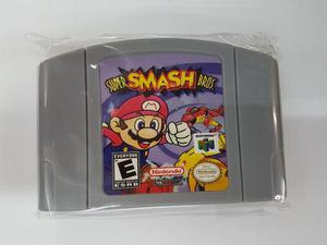 Super Smash Bros Nintendo 64 Nuevo Version Usa Generico