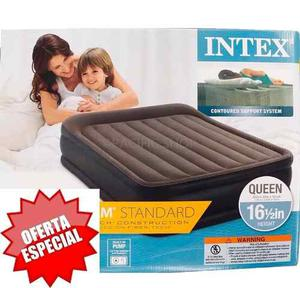 Colchón Inflable Doble Intex Queen 152x203x42cm