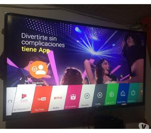 "vendo smarth tv LG 49"" con TDT wiffi"