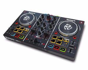 Controlador Dj Consola Numark Party Mix Cableusb,virtual Dj