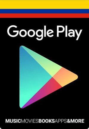 Tarjeta Google Play Gift Card 10 Usd [Apta Para Colombia]