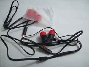 Audifonos Manos Libres Htc Negro Originales Rojo/negro