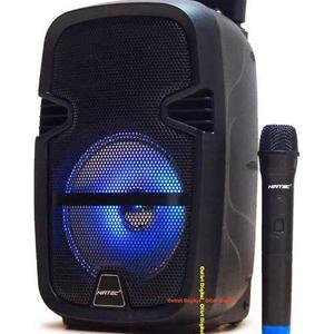 Cabina De Sonido Activa Con Bateria Y Microfono Inalambrico