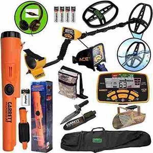 Detector De Metales Garrett Ace 400 Con Dd Bobina Q30