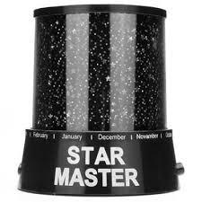 Espectacular Lampara proyector de luces de estrellas