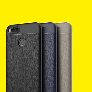 Estuche Tipo Cuero + Vidrio Templado Xiaomi Mi A1 5x