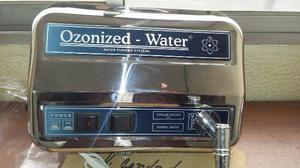 Filtro Purificador De Agua A Base De Ozono En Acero Inoxidab