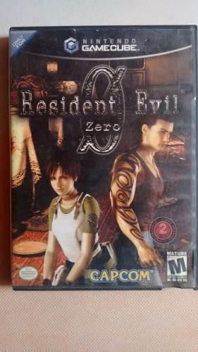 Juego Resident Evil 0, 1 Y 4 Para Nintendo Gamecube