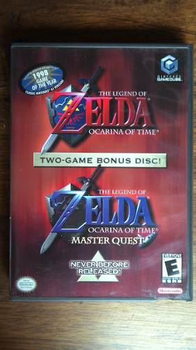 The Legend Of Zelda Ocarina Of Time Y Wind Waker Gamecube