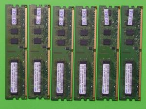 MEMORIAS DDR2 DE 2 GB BUS 800 Y 667 PARA AMD E INTEL DE