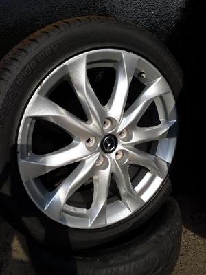 Rines 18 Mazda Grantourin con Llantas - Cali