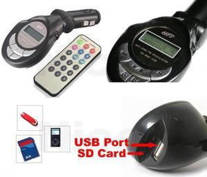 trasmisor MP3FM usb, SD, msd para Carro - Cúcuta