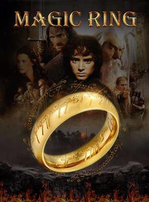 Anillo Lord Of The Rings