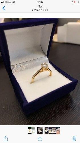 Argollas De Matrimonio Y Anillo De Compromiso En Oro 18k