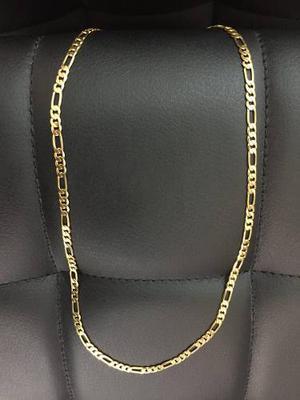 Cadena Cartier Acero Enchape Oro 18k - Hombre