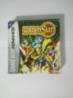 Cajas Golden Sun Y Zelda: Oracle
