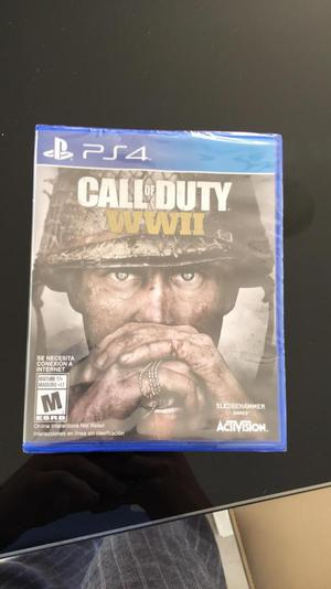 Call Of Dury World War 2 Ps4 Original