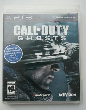 Call of Duty Ghosts ps3 playstation 3 cod ghosts