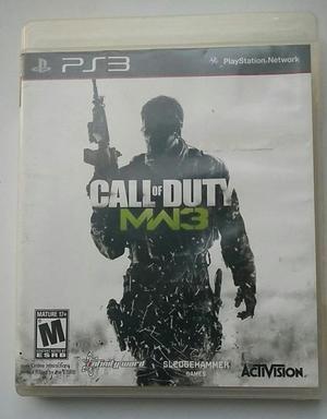 Call of Duty Modern Warfare 3 ps3 playstation 3 cod mw 3