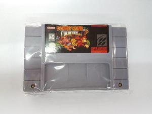 Donkey Kong Country Super Nintendo Generico Nuevo