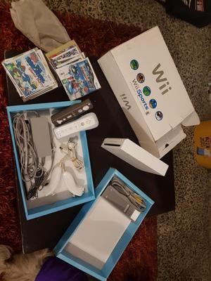 Nintendo Wii Caja 4 Controles 15 Juegos