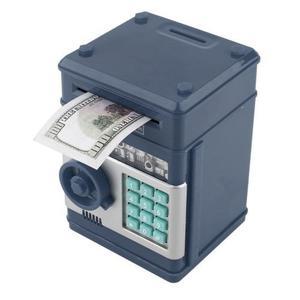 Alcancía Electrónica Billetes Y Monedas Con Clave Y