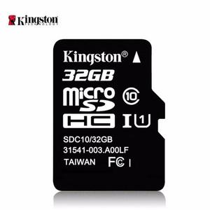 Memoria Micro Sd 32gb Kingston Clase 10 Blister Aaa