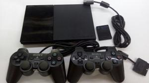 Play Station 2 + 2 Controles + Memory Card **gamepolis