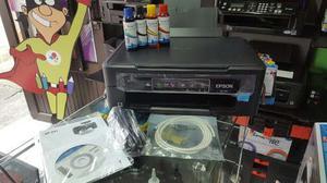 Impresora Multifuncional Epson Xp 241 + Sistema Continuo Dye