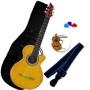 Combo Guitarra Accesorios Bucaramanga Am Amarillo