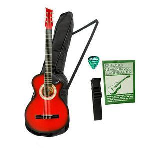 Combo Guitarra Acustica Boquete Bucaramanga Ap Rojo