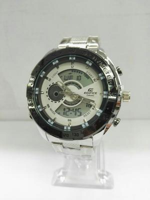 Reloj Casio Edifice Acero Borde Negro